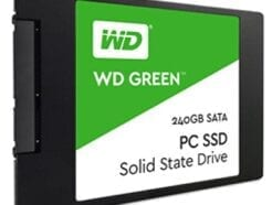 WESTERN DIGITAL WD GREEN 3D SSD 240GB SATA-6GB  2