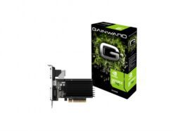 GAINWARD SCHEDA VIDEO NVIDIA GT710 2GB DDR3 DVI-D/VGA/HDMI SILENT FX 426018336-3576 .