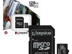 KINGSTON MICRO SD 128GB CL10 CANVAS SELECT PLUS SDCS2/128GB .