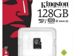 KINGSTON MICRO SD 128GB CL10 CANVAS SELECT PLUS SDCS2/128GBSP NO SDCARD ADAPTER