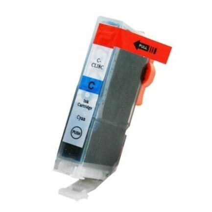 CARTUCCIA COMPATIBILE CANON CLI-8C 12ML CIANO 0621B001