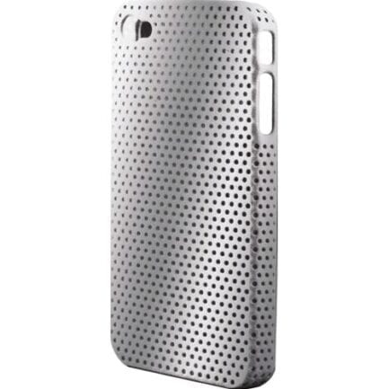 KEYTECK COVER PER I-PHONE 4/4S SILVER SERIE AIRHOLE CPH-15