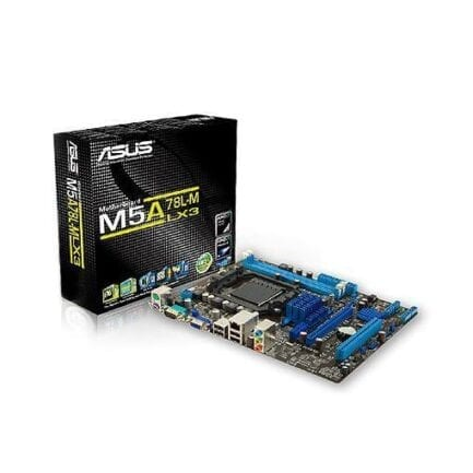 ASUS SCHEDA MADRE M5A78L-M LX3 2X SLOT DDR3 SOCKET AM3+ .