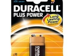 DURACELL PLUS POWER PILA 9V 1 A PACCO 6LR61 / MN1604