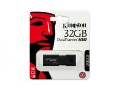 KINGSTON PENDRIVE DATATRAVELER 32GB DT100 G3 USB 3.0 DT100G3/32GB .