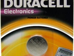DURACELL PLUS BATTERIA A BOTTONE COIN CELL 3V DL2450 CR2450 EC2450
