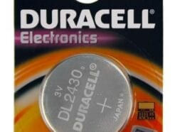 DURACELL PLUS BATTERIA COIN CELL 3V DL2430 CR2430 K2430L