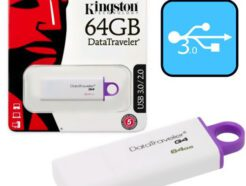 KINGSTON PENDRIVE DATATRAVELER 64GB USB 3.0 DTIG4/64GB