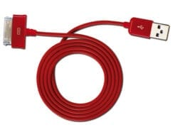 TECNOWARE MOBILE CABLE POWER ADAPTER SAMSUNG GALAXY TAB 100 CM RED COLOR FCM16297