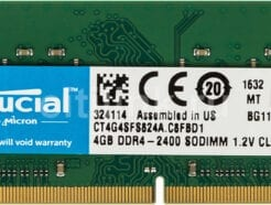 CRUCIAL RAM SO-DDR4 4GB 2400MHZ PC-19200 CT4G4SFS824A