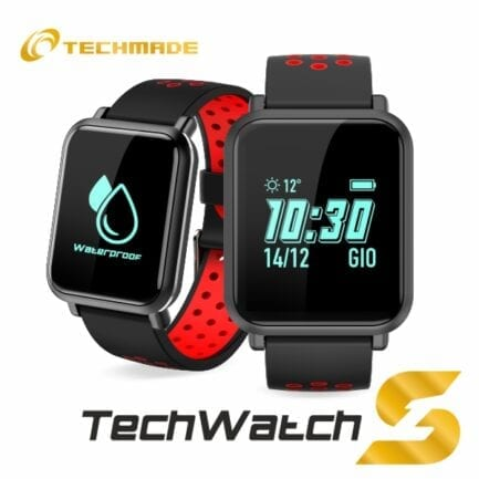 TECHMADE SMARTWATCH TECH RED WATCHS1-RED