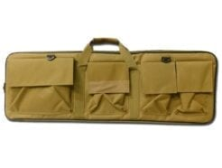 ROYAL BORSA CUSTODIA PORTA FUCILE DA SOFTAIR CON 4 TASCHE 87CM X 30CM COLORAZIONE TAN B100TAN