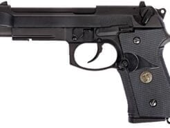 WE PISTOLA SOFTAIR BERETTA M9A1 MARINE NERA FULL METAL A GREEN GAS SCARRELLANTE W048B