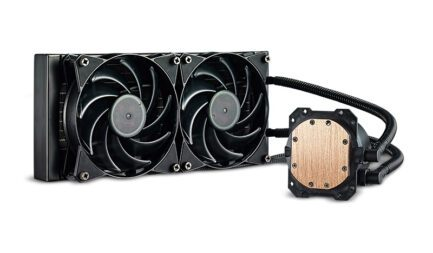 COOLER MASTER DISSIPATORE A LIQUIDO LITE 240 277*120MM RADIATOR MLW-D24M-A20PW-R1 .