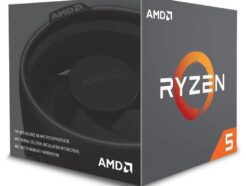 AMD PROCESSORE CPU SIX-CORE  RYZEN 5 2600 3