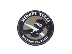 EMERSON PATCH IN PVC MIDGET NINJA PANDION TACTICAL EM5544