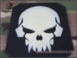 EMERSON PATCH IN PVC SKULL EM5550C .