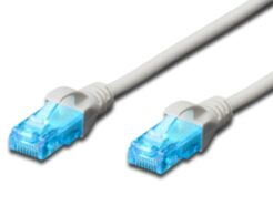 EWENT CAVO DI RETE U/UTP PATCH CORD 10MT CAT 5e COLOR GRIGIO EW-5U-100