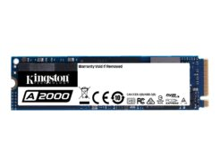 KINGSTON SOLID STATE DRIVE SSD 500 GB M.2 PCIE SA2000M8/500G