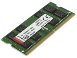 KINGSTON RAM SO-DDR4 16GB 3200MHZ PC4-25600 KVR32S22D8/16 .