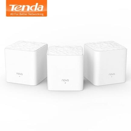 TENDA WIRELESS HOME MESH SYSTEM PACK 3 DUAL BAND AC1200 MW3(3-PACK)