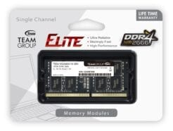 TEAM GROUP ELITE RAM SO-DDR4 16GB 2666MHZ TED416G2666C19-S01 .