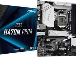 ASROCK SCHEDA MADRE H470M Pro4  4X DDR4 HDMI/DVI-D/DISPLAY-PORT SOCKET 1200