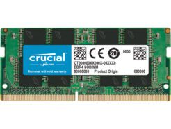 CRUCIAL RAM SO-DDR4 16GB PC4-21300 2666MHZ CT16G4SFRA266 .
