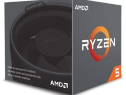 AMD PROCESSORE CPU SIX-CORE  RYZEN 5 2600X  4