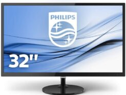 "PHILIPS MONITOR LCD LED 32"" FULL HD 4MS VGA/DVI-D/HDMI  327E8QJAB/00 ."