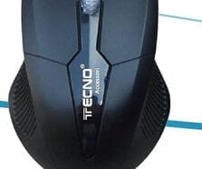 TECNO MOUSE WIRELESS TC-30 BLACK