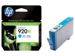 HP CARTUCCIA ORIGINALE 920XL 6ML CIANO CD972AE