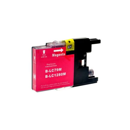 CARTUCCIA COMPATIBILE BROTHER MAGENTA ALTA CAPACITA' LC-1280XLM