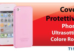 HANTOL COVER PROTETTIVA ULTRA SOTTILE 3MM PER IPHONE 4/4S