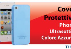 HANTOL COVER ULTRA SOTTILE 3MM PER IPHONE 4/4S