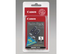 CANON KIT CARTUCCIA ORIGINALE 2 PEZZI PER PIXMA MP500/MP600/MX700/MP800/MP950/IP5300 NERO PGI-5BK 0628B030