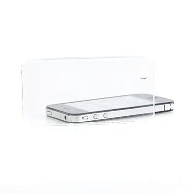 COVER IN PLASTICA DURA TRASPARENTE CRYSTAL PER IPHONE 4/4S