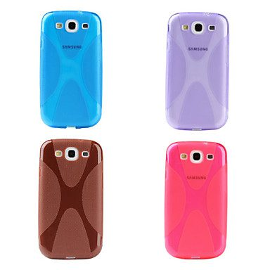 COVER IN SILICONE MARRONE PER SAMSUNG GALAXY S3 I9300