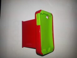 INCIPIO COVER IN ALLUMINIO E GOMMA PER IPHONE 4/4S ROSSA E VERDE