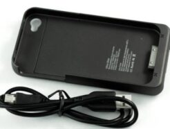COVER NERA CON BATTERIA INTEGRATA 1900 mAH PER IPHONE 4/4S