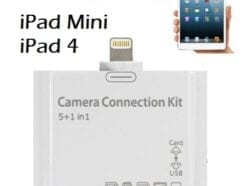 MEDIAKING CARD READER 5 IN 1 LETTORE CARD E USB 2.0 PER IPAD 4 - MINI MKCAB070-C