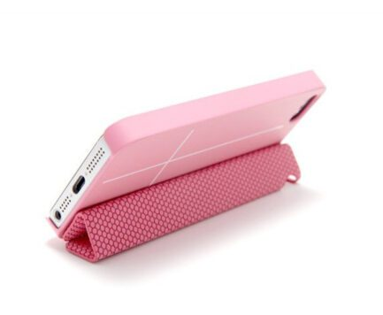 COVER BUMPER SMART MAGNETICA  ROSA PER IPHONE 5