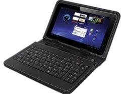 "TECHMADE CUSTODIA PER TABLET 7"" BLACK CON TASTIERA INCORPORATA PK-07"