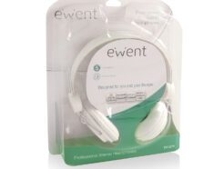 EWENT CUFFIE STEREO - BIANCO DRIVER 40MM EW3578
