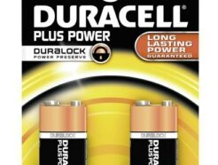 DURACELL PLUS POWER PILA 9V 2PZ MN1604B2