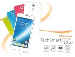 "TECHMADE SMARTPHONE C502DC-COLOR 5"" DUAL CORE MT6572  1"