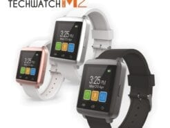 TECHMADE SMARTWATCH M2 MINI BIANCO E ROSA TECHWATCHM2-WP