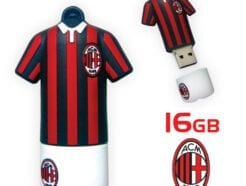 TECHMADE PENDRIVE UFFICIALE AC MILAN 16GB TM-USBTTMIL-16GB