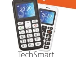 TECHMADE SENIOR MOBILE PHONE MS-301 NERO MS-301-BK