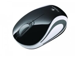 LOGITECH MOUSE M187 MINI CORDLESS NERO USB NANO RECEIVER 910-002731